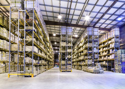 Warehouse and Cold Storage - Meeting Security Challenges & CCTV Chicago - Warehousing / Cold Storage