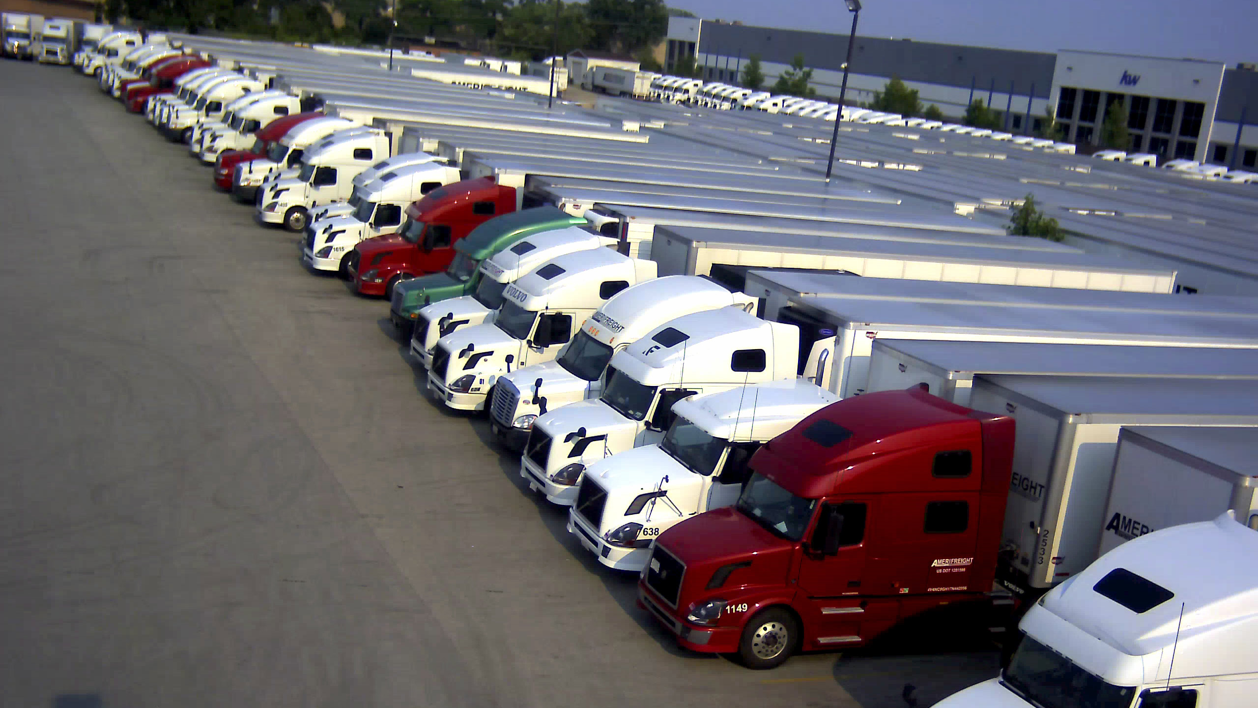 Truck-PArking-Lot-from-Pole